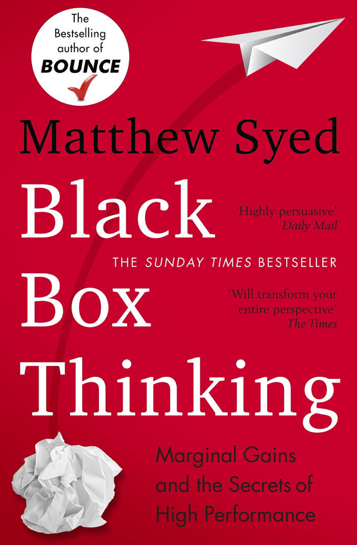 black box thinking book